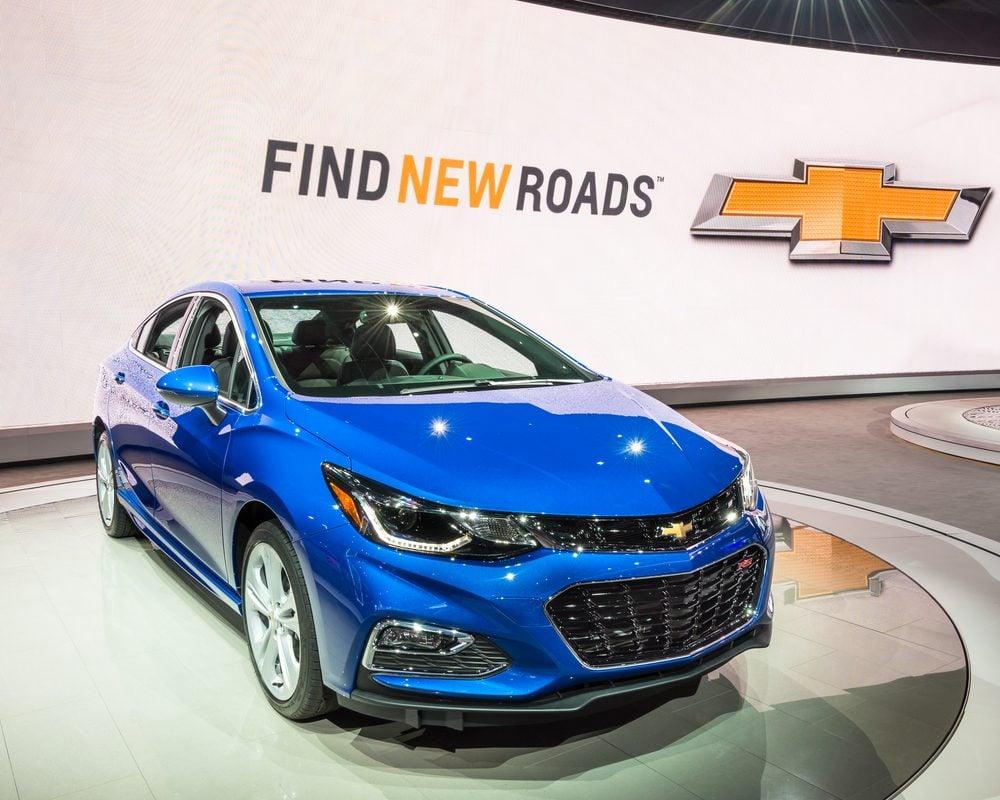 La Chevrolet Cruze 2016 a un moteur puissant et offre une excellente économie d'essence
