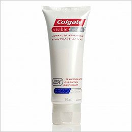 2- Colgate Visible White Toothpaste