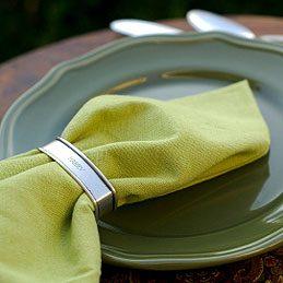 2. Réaliser des serviettes en tissu