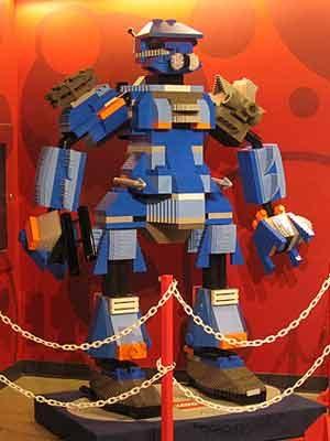 Le robot géant