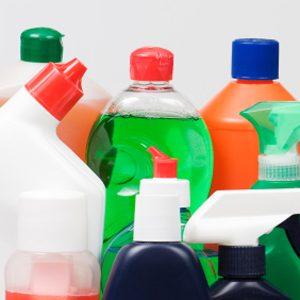 1. Ménagez les produits nettoyants