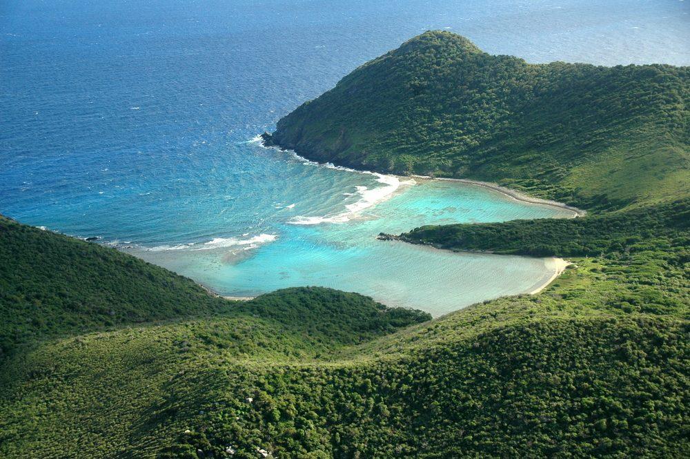 3. Île Guana, îles Vierges britanniques