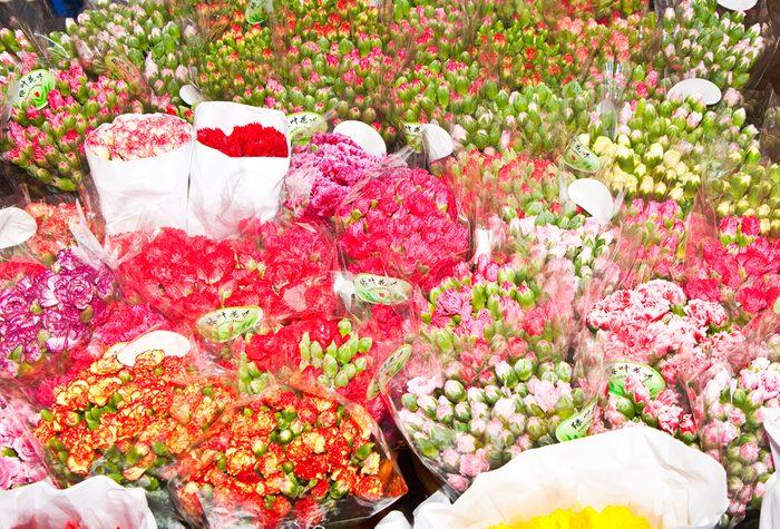 3. Marché aux fleurs, Hong Kong