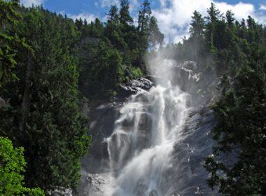Chutes de Shannon - Parc provincial de Shannon Falls, Colombie-Britannique