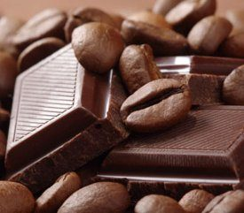 3. Café, vin et chocolat noir