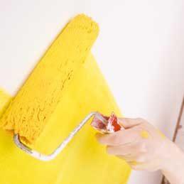 Neutraliser une odeur de peinture fraîche