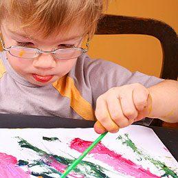 2. Palette de peintre pour enfant