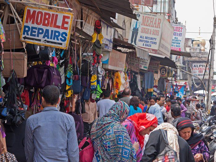 4. Chandni Chowk, Delhi