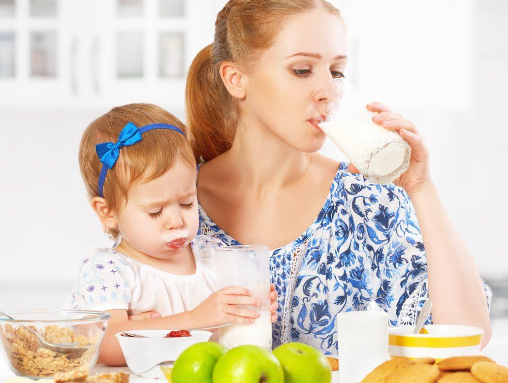 5. Évitez le lait, surtout si vous avez le rhume, parce qu'il produit du mucus