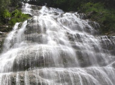 Chutes de Bridal Veil - Parc provincial des chutes de Bridal Veil Provincial Park, Colombie-Britannique