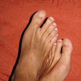 Massage relaxant pour les pieds