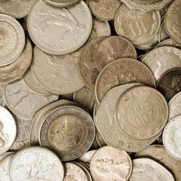 5. Nettoyer des pièces de monnaie