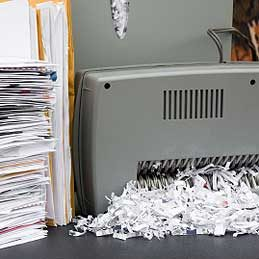 1. Déchiqueter rapidement des papiers