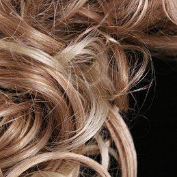 Cheveux aux reflets blonds