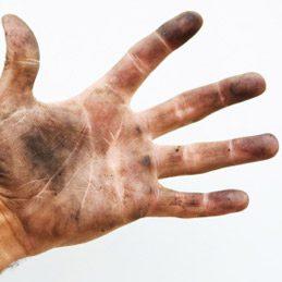 Crème pour les mains abîmées