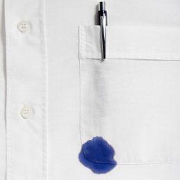 Ôter une tache d'encre sur un vêtement