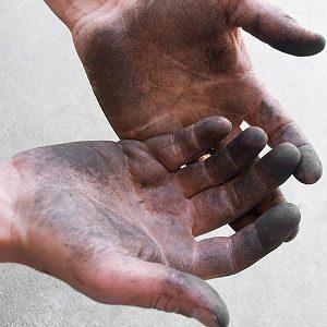 Se dégraisser les mains