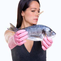 Éviter les odeurs de poisson