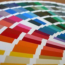 Repérer une couleur de peinture