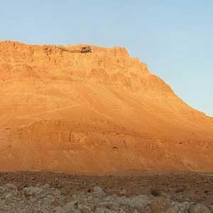 6. Montez au sommet du Massada
