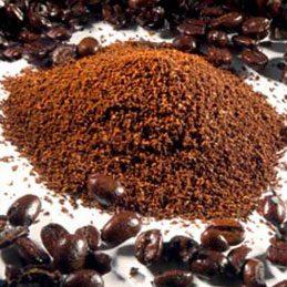 Résidu de café