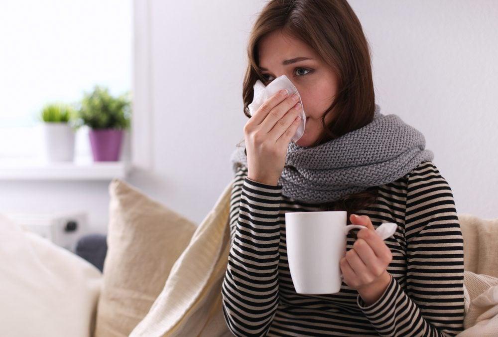8. Se nourrir en cas de rhume, jeûner en cas de fièvre.