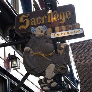7. Bar Le Sacrilège, 447 rue St-Jean