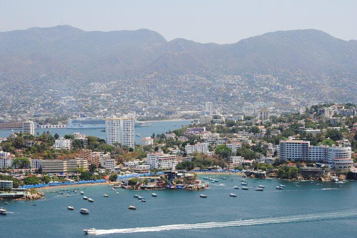 Acapulco au Mexique.