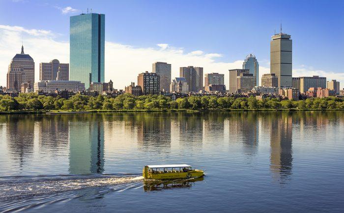 Un tour de «canard» à faire en famille à Boston