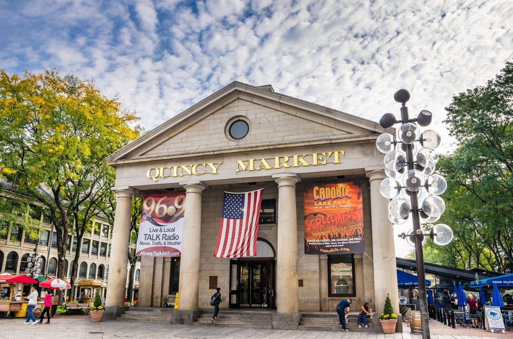 Une Activite En Famille A Boston Faneuil Hall Marketplace