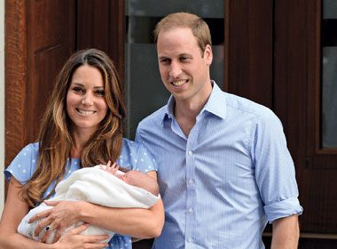 L'arrivée de bébé royal