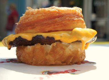 Le cronut burger