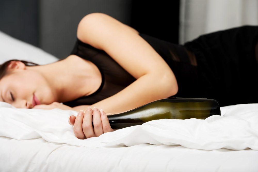 3) L'alcool peut occasionner un manque d'énergie