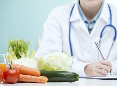 Discutez d'alimentation et de nutrition