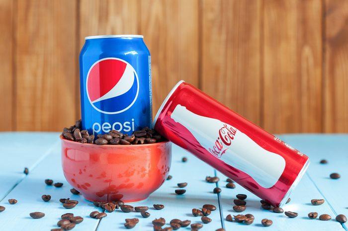 Café et boissons gazeuses