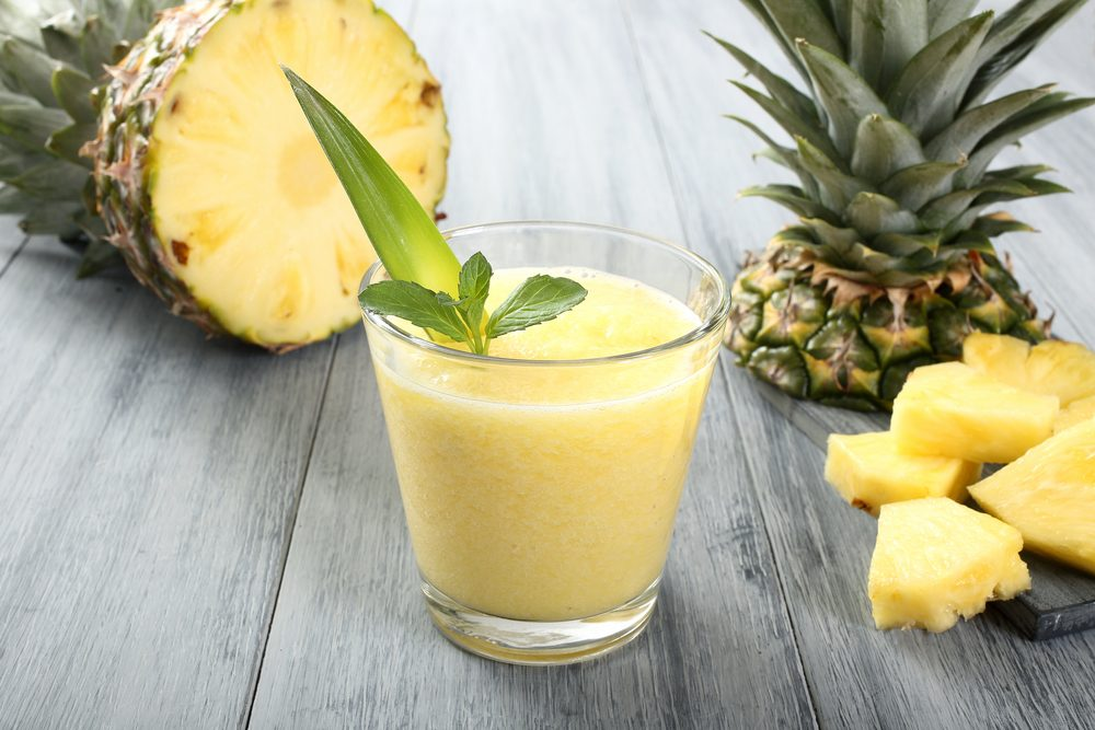 Pineapple is a food that helps weight loss