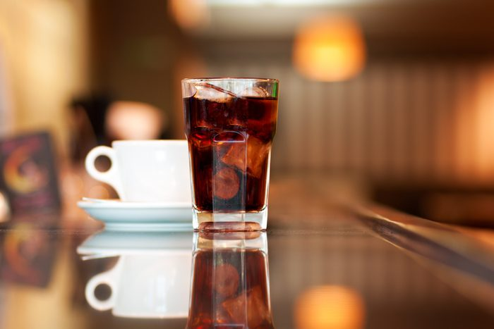 9. Café, thé, sodas