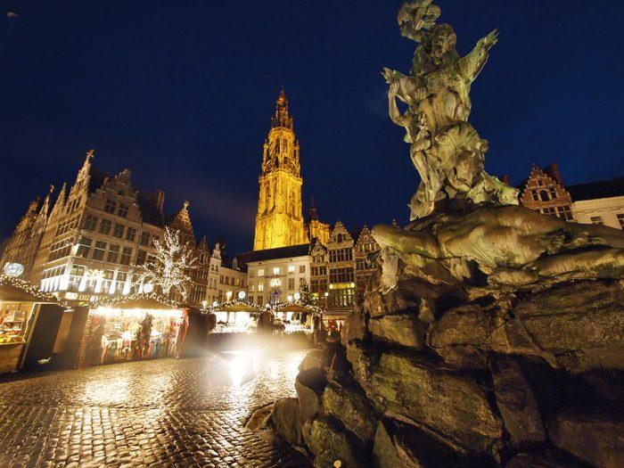 9. Anvers, Belgique