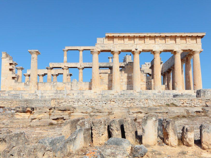9. Le temple d'Aphaïa, Égine