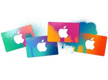Cartes-cadeaux Apple iTunes ou Google Play