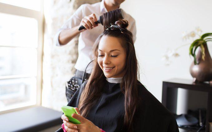 Des applications beauté pour cheveux et visage