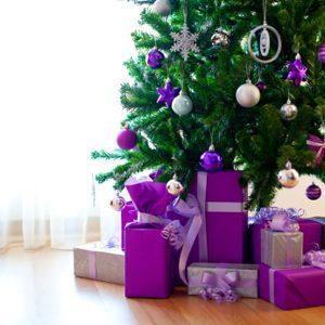 1. Arbres de Noël et décorations