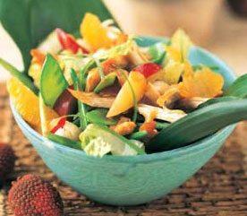 4. Salade de poulet à l'asiatique