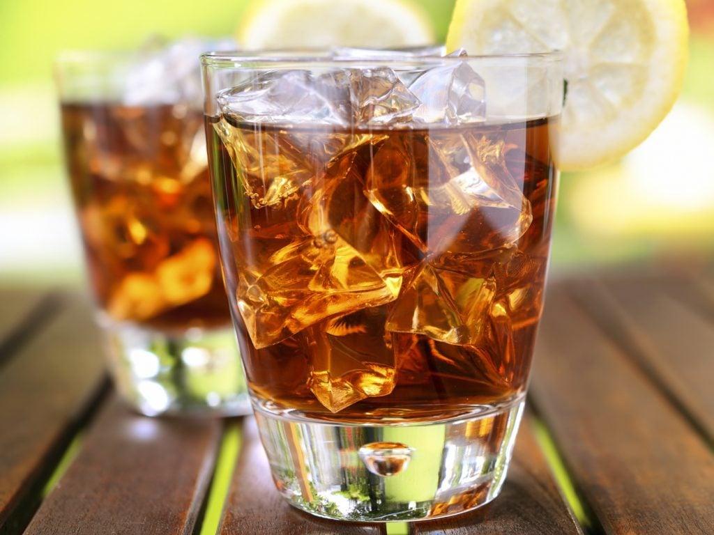 Sodas et boissons contenant de l'aspartame