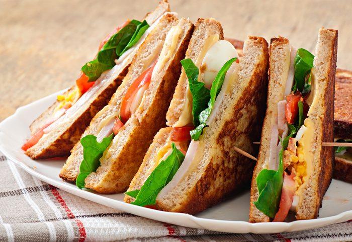 Préparer d'avance les sandwichs