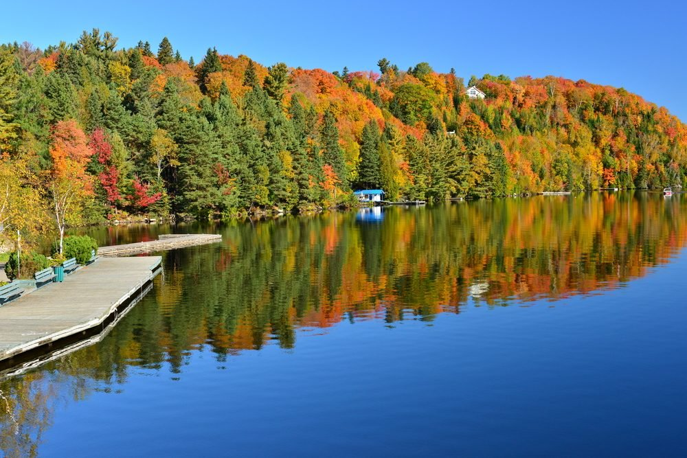 9. Une attraction incontournable: Les Laurentides