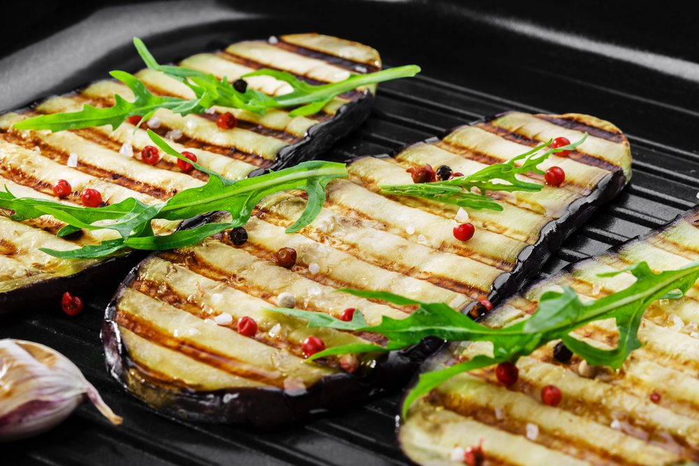 Eggplant, a champion of fat absorption