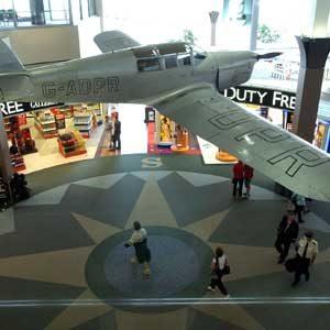 6. L'aéroport d'Auckland, Nouvelle-Zélande