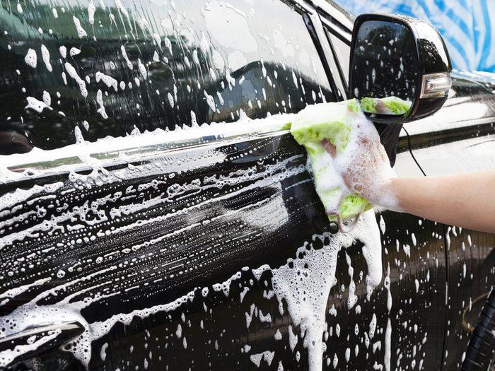 Automobile : le lavage pourrait l'endommager.