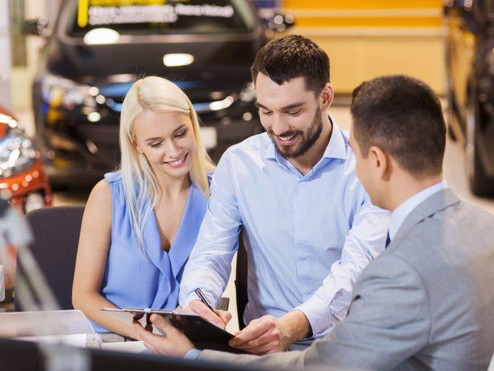 Avantage #3 : Les prêts sont plus abordables pour les véhicules neufs